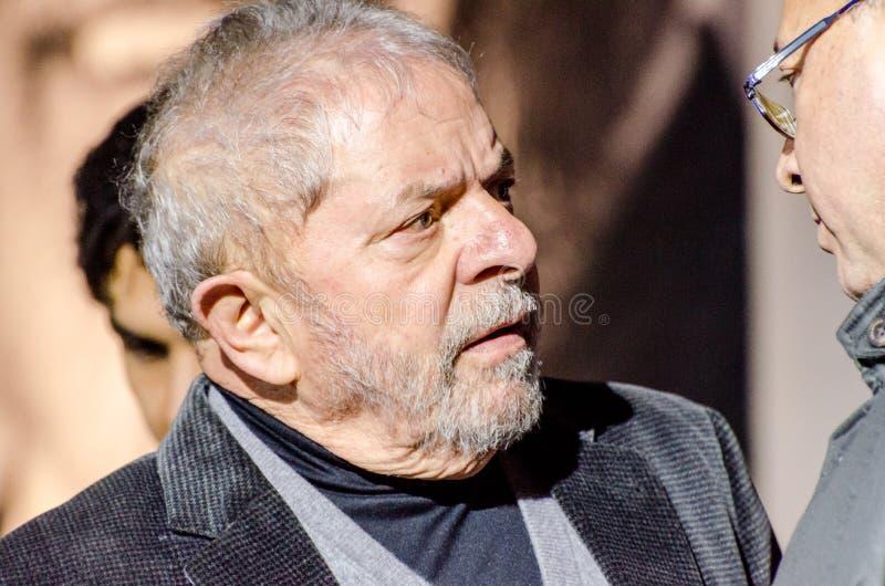 Luiz Inacio Lula da Silva stockbild