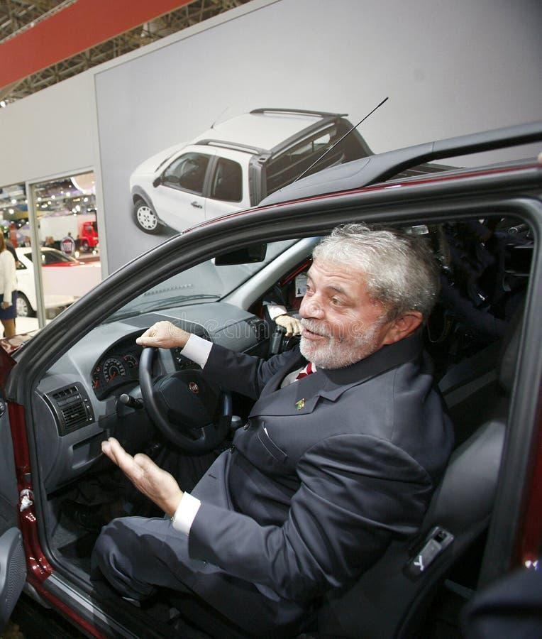 Luiz Inacio Lula da Silva, Kandidat von Präsidenten von Brasilien lizenzfreies stockbild