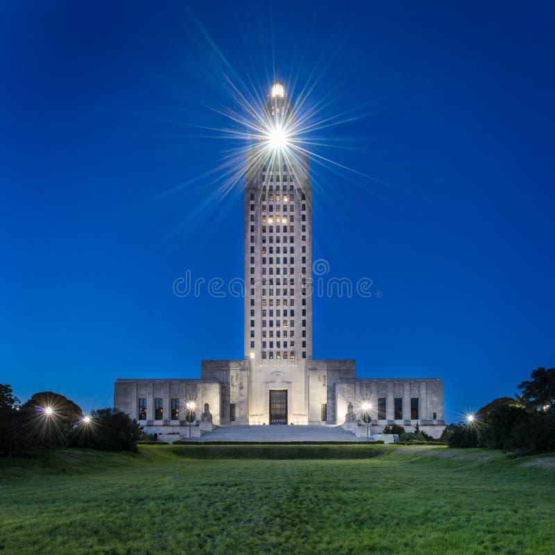 Luizjana stanu Capitol fotografia royalty free