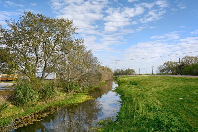 Luizjana zalewisko obrazy stock