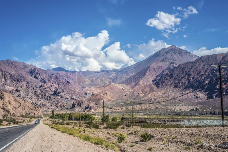 Lujan de Cuyo in Mendoza, Argentina stock photography