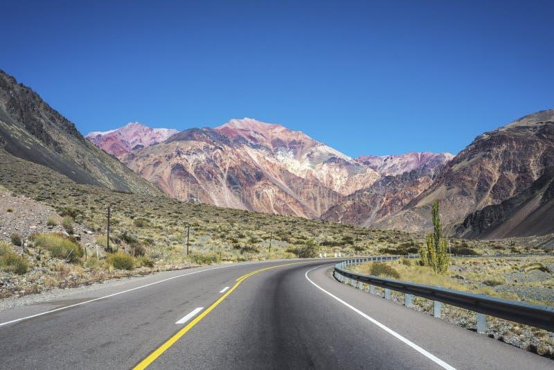 Lujan de Cuyo in Mendoza, Argentinien lizenzfreie stockbilder