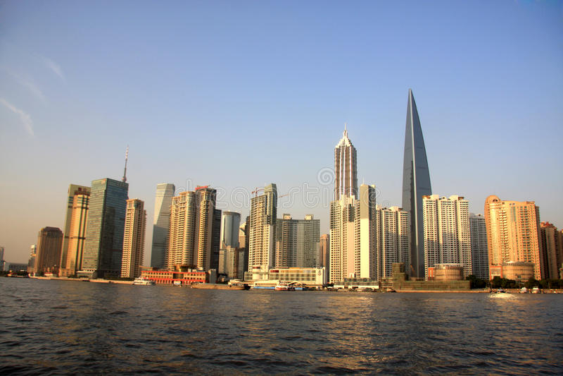 lujiazuipudong shanghai arkivfoton