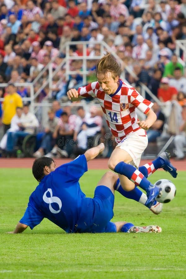 Luka Modric, footballeur images stock