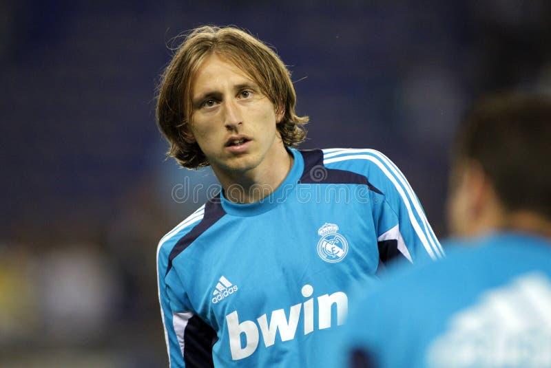 Luka Modric Real Madrid obraz stock
