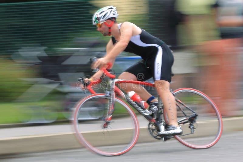 Lukas Liptak - triathlon fotos de archivo libres de regalías