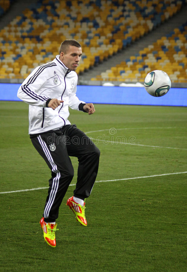 Download Lukas Podolski Of Germany Editorial Stock Image - Image: 21984109