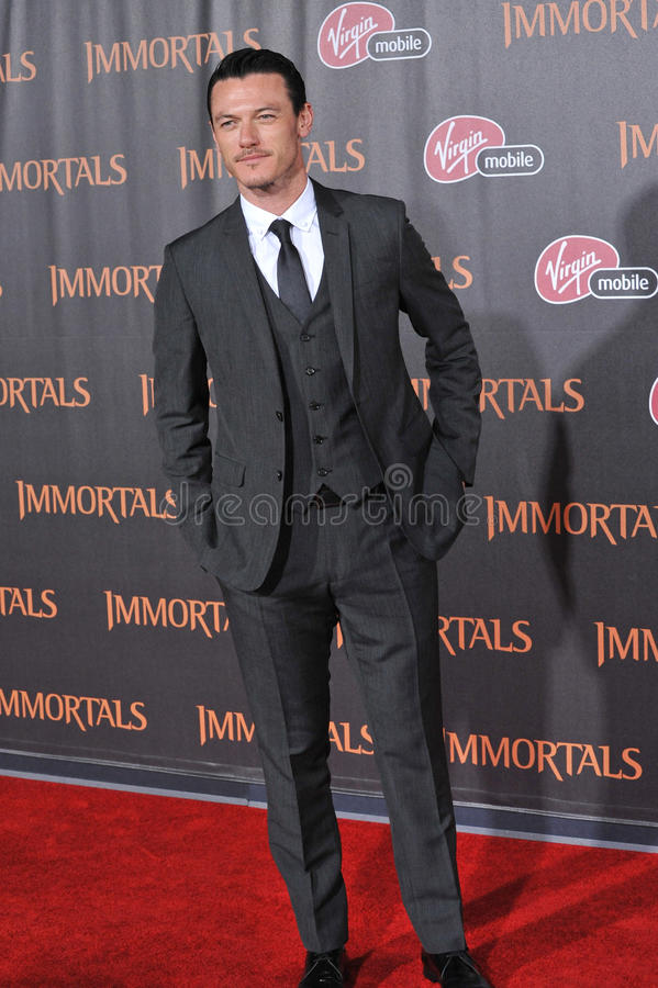 Luke Evans royalty-vrije stock foto