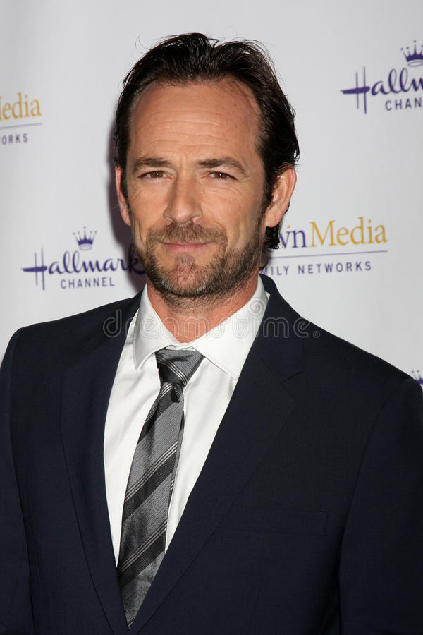 Luke Perry royalty free stock photos