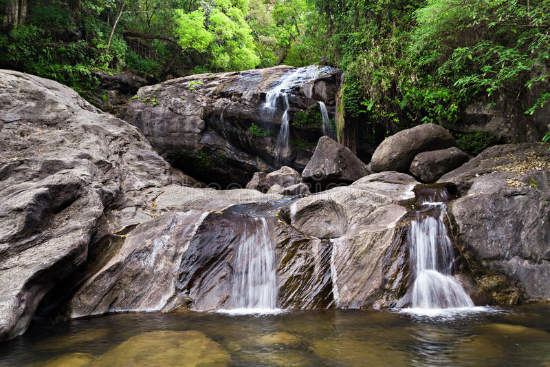 Download Lukkam waterfalls, India stock photo. Image of motion - 26930682