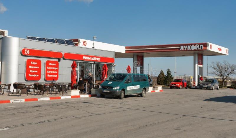m h gas station