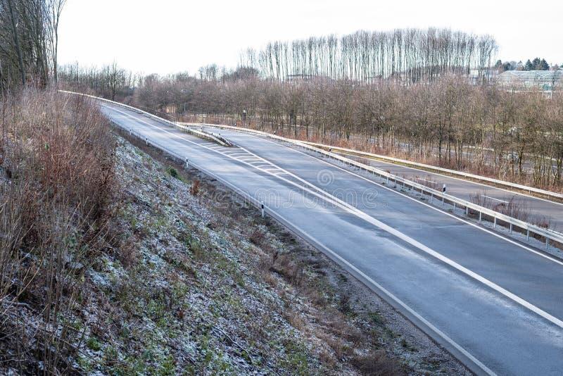 Lukrowa autostrady powierzchnia zdjęcie royalty free