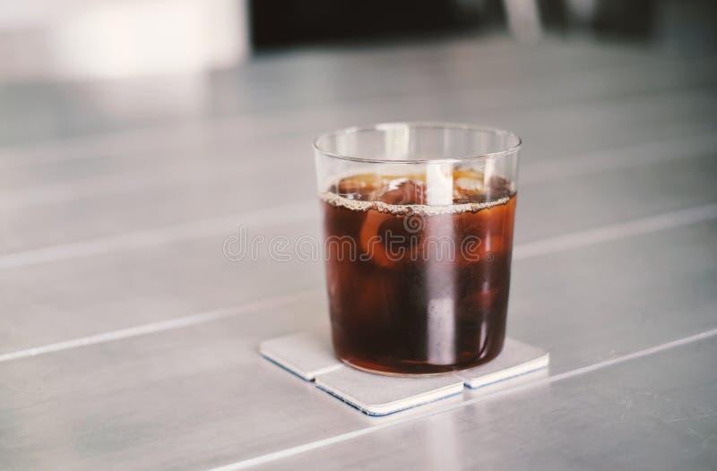 Lukrowa kawa lub zimna parzenie kawa fotografia stock