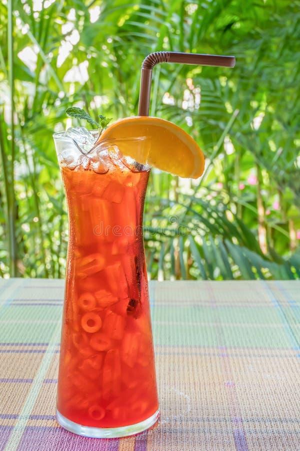 Lukrowa pomarańczowa herbata obrazy stock