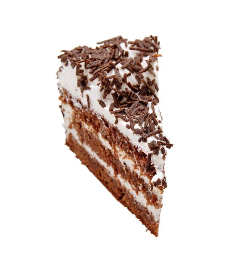 lukrowy czekolada kulebiak zdjęcia stock