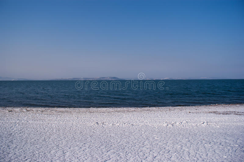 Lukrowy seashore zdjęcia royalty free