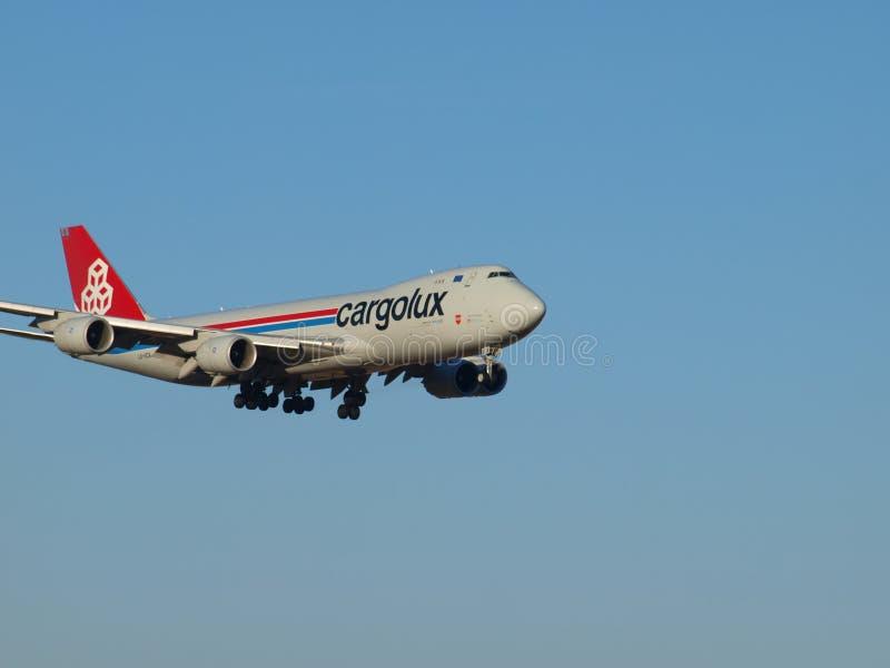 Luksemburg Lotniczy ładunek Słuzyć DFW zawody międzynarodowi obrazy royalty free