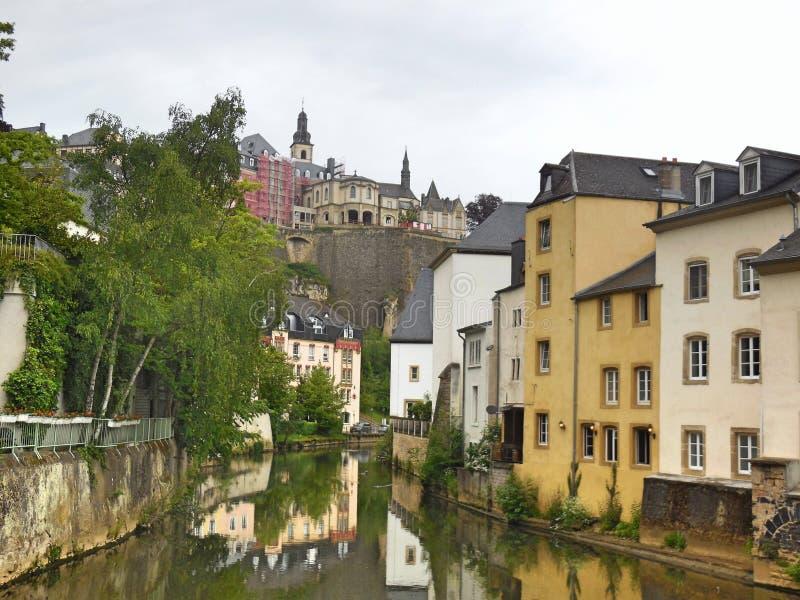 Luksemburg stary miasteczko fotografia royalty free