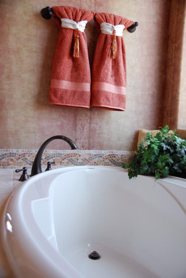 luksus do łazienki obrazy stock
