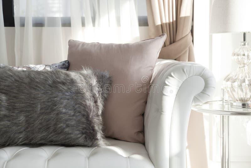 Luksus poduszka fotografia stock