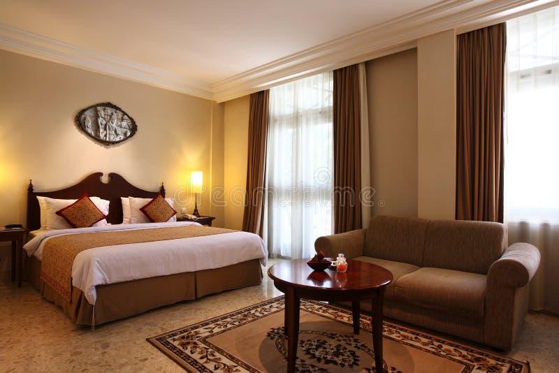 luksus wewnątrz sypialni obraz royalty free