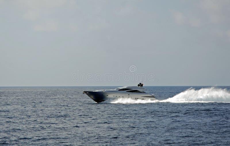 Luksusowa łódź obraz stock