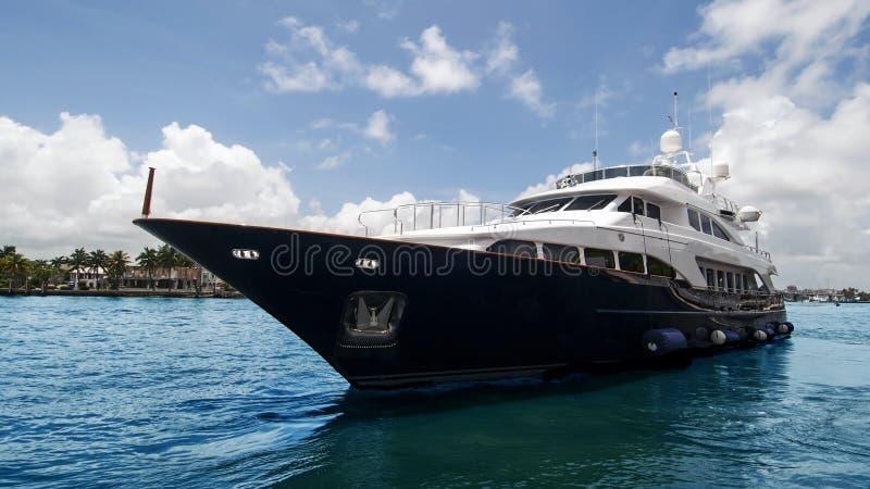 Luksusowa łódź fotografia royalty free