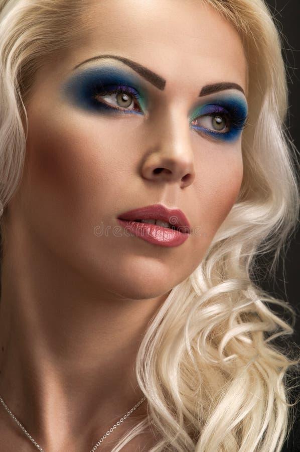Luksusowa blondynka obraz royalty free