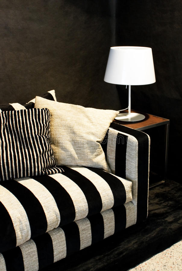 luksusowa kanapa zdjęcie stock
