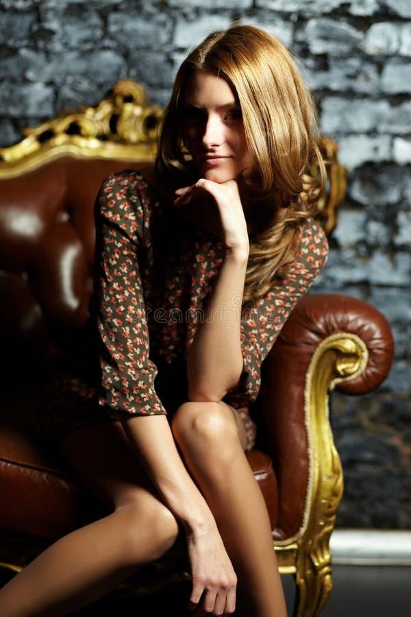 Luksusowa kobieta zdjęcie royalty free