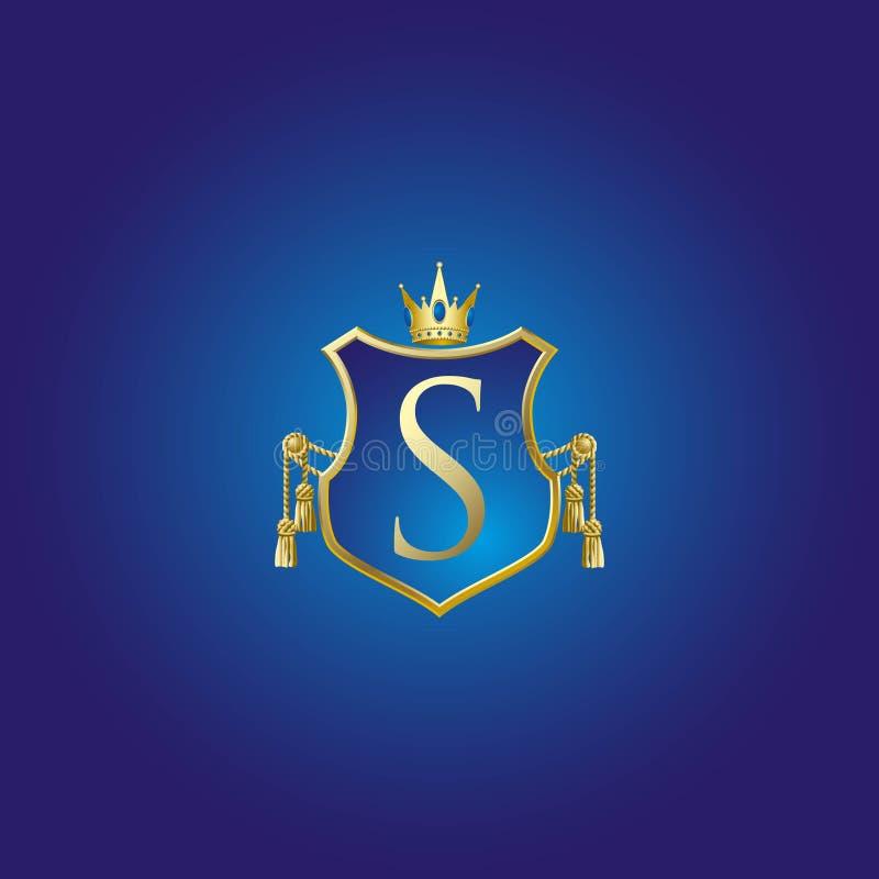 Luksusowa odznaka ilustracja wektor
