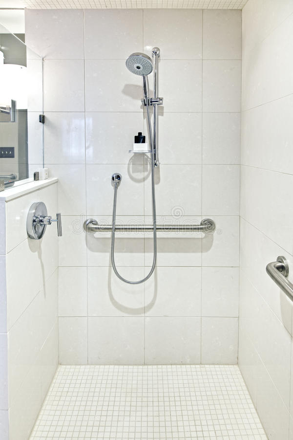 luksusowa prysznic zdjęcia stock
