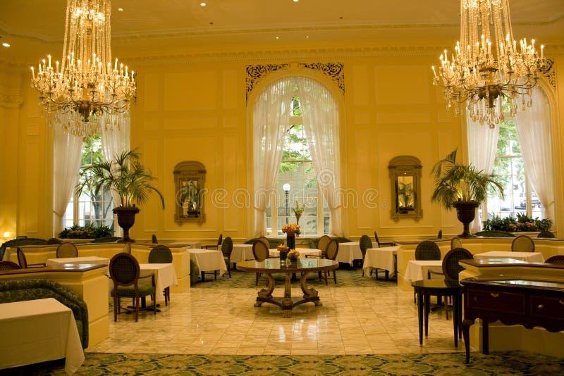 Luksusowa restauracja obraz stock