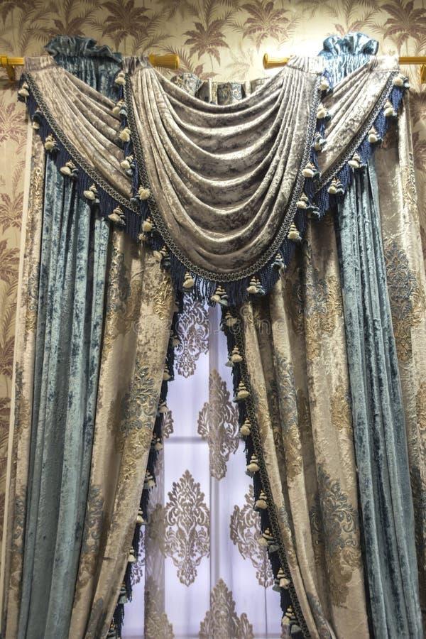 Luksusowa zasłona zdjęcie royalty free