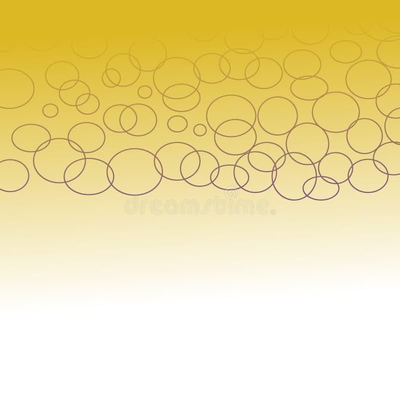 Luksusowe egzotyczne projekta GEOM złota kropki ilustracji