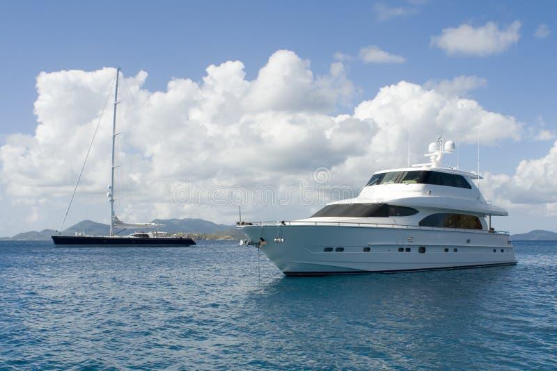 luksusowe jachty obrazy stock