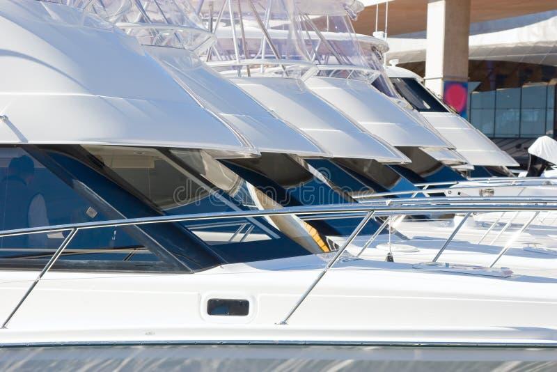 luksusowe jachty obraz stock