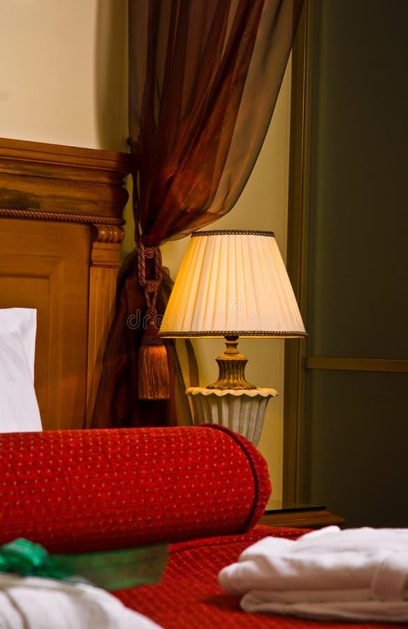 luksusowe sypialnia obraz royalty free