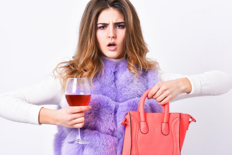 Luksusowego sklepu pojęcie Elita moda odziewa Dama lubi robić zakupy Projektant odzieży mody luksusowy butik Kobieta z obraz stock