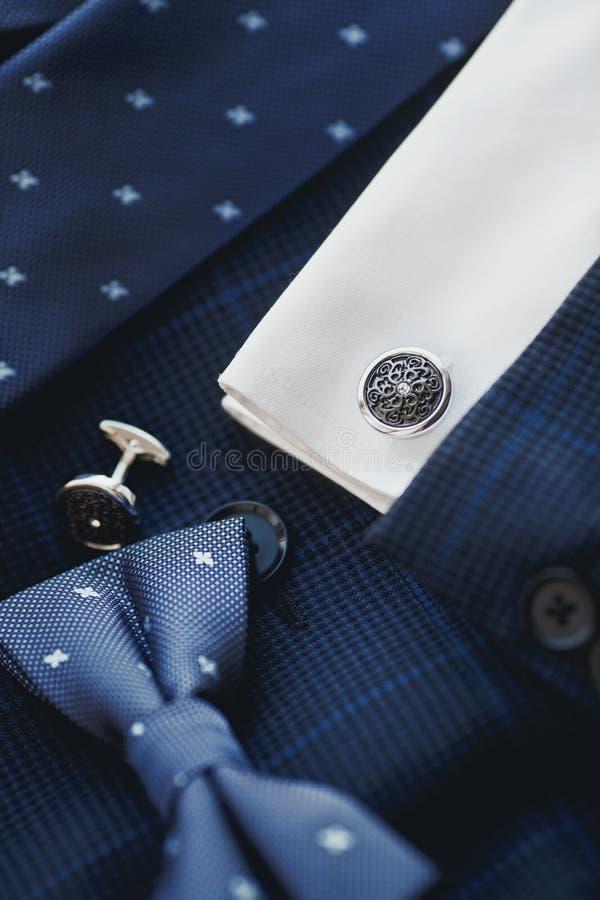 Luksusowi mężczyzna ` s cufflinks zdjęcia stock