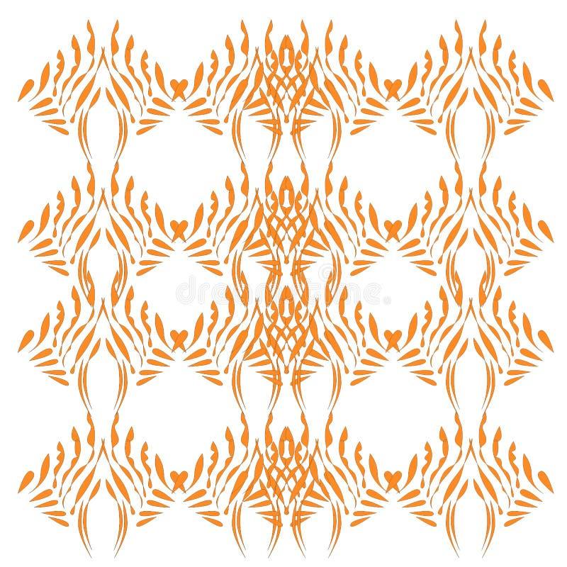 Luksusowi projektów Mandalas złota kawałki na bielu ilustracji