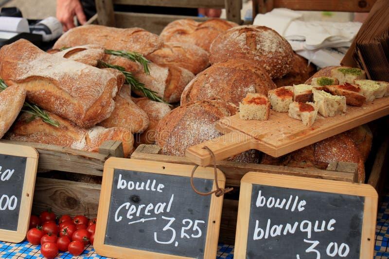 Luksusowy artisanal chleb zdjęcie royalty free