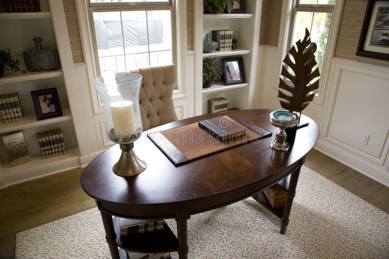 luksusowy biura do domu fotografia royalty free