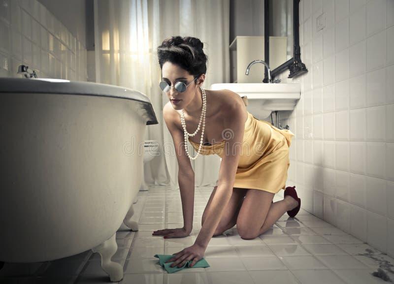 Luksusowy cleaning obraz stock