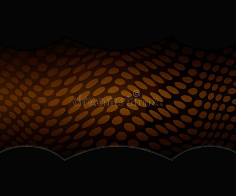 Luksusowy czarny i złocisty tło Projekt dla prezentaci, koncert, przedstawienie royalty ilustracja