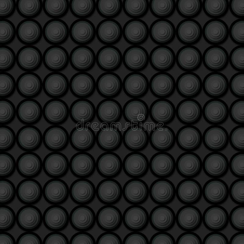 Luksusowy czarny tło elementów wzór, super ilości abstrakcjonistyczny biznesowy plakat zdjęcia royalty free