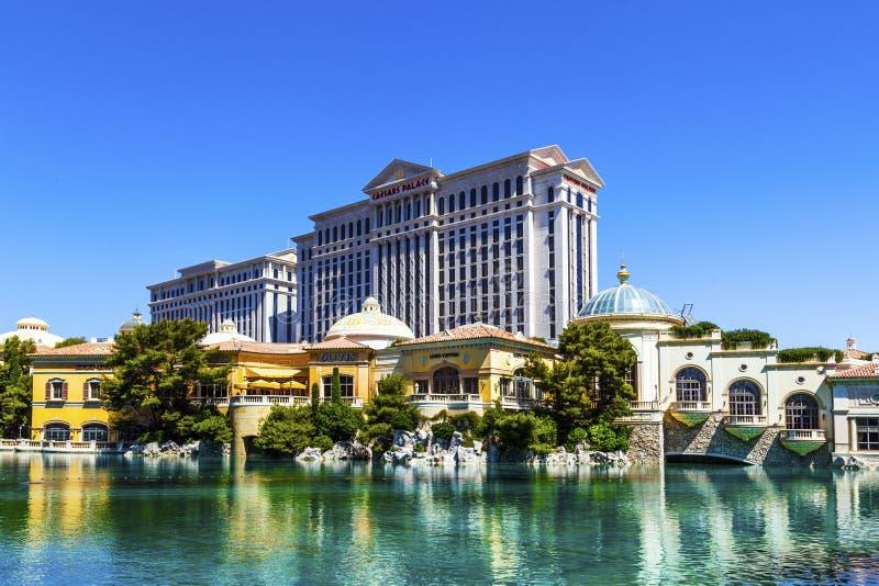 Luksusowy hotel Bellagio w Las Vegas obrazy stock