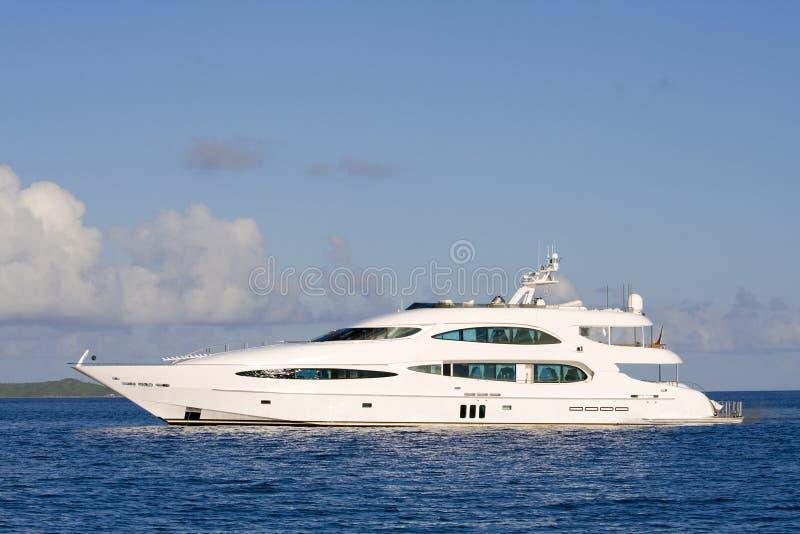 luksusowy jacht zdjęcia stock