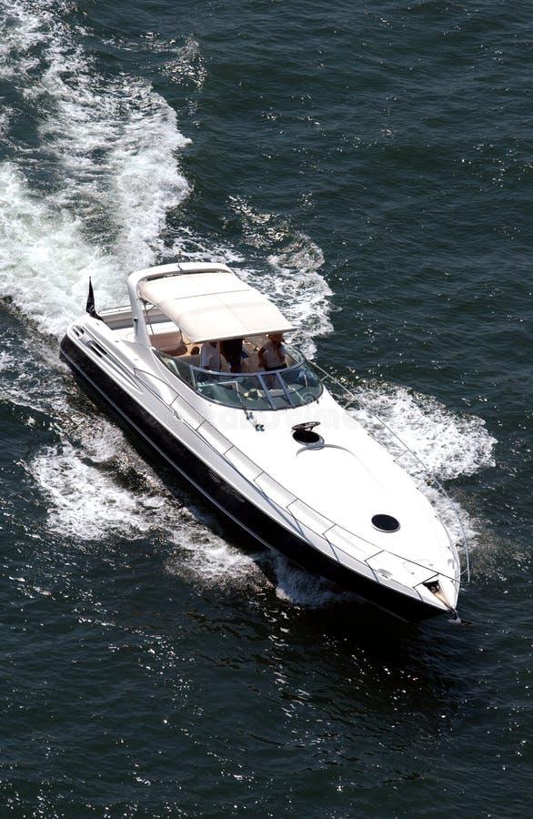 luksusowy jacht obraz royalty free