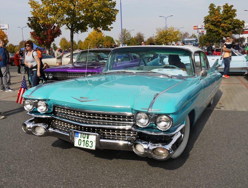 Luksusowy Klasyczny samochodu Cadillac Eldorado zdjęcie stock